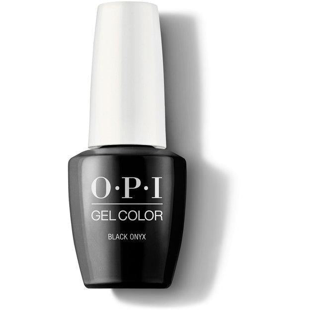 OPI Gel Color - Black Onyx 0.5 oz - GCT02 - Milky Beauty