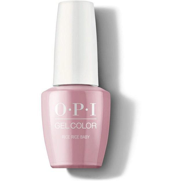 OPI Gel Color - Rice Rice Baby 0.5 oz - GCT80 - Milky Beauty