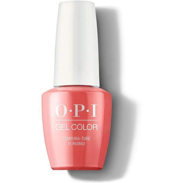 OPI Gel Color - Tempura-ture is Rising! 0.5 oz - GCT89 - Milky Beauty