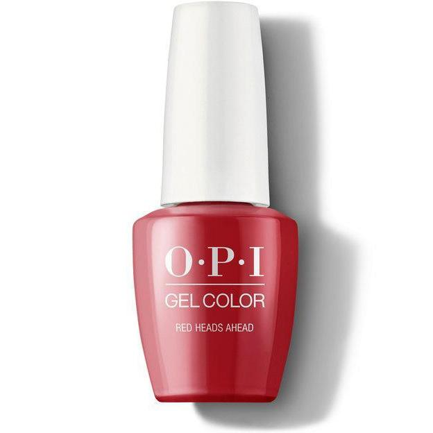 OPI Gel Color - Red Heads Ahead 0.5 oz - GCU13 - Milky Beauty