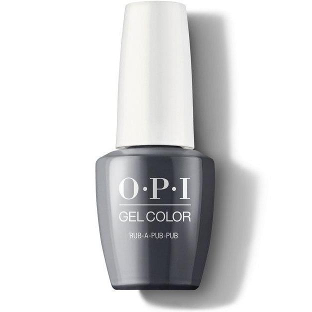 OPI Gel Color - Rub-a-Pub-Pub 0.5 oz - GCU18 - Milky Beauty