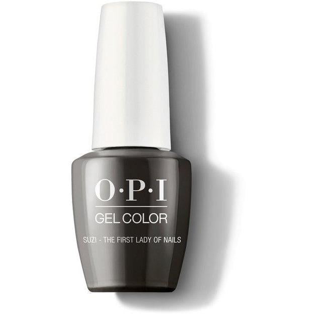 OPI Gel Color - Suzi The First Lady 0.5 oz - GCW55 - Milky Beauty