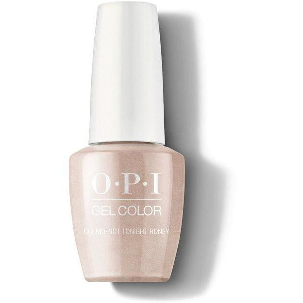 OPI Gel Color - Cosmo-Not Tonight Honey 0.5 oz - GCR58