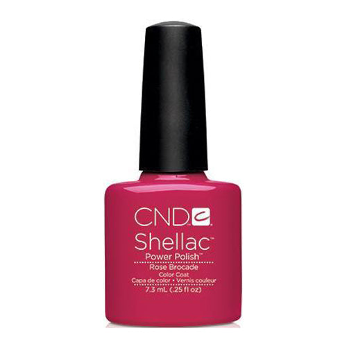 CND Shellac - Rose Brocade 0.25 oz - Milky Beauty