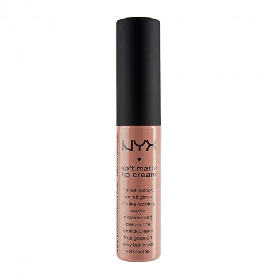 NYX Soft Matte Lip Cream-ABU DHABI (SMLC09) - Milky Beauty