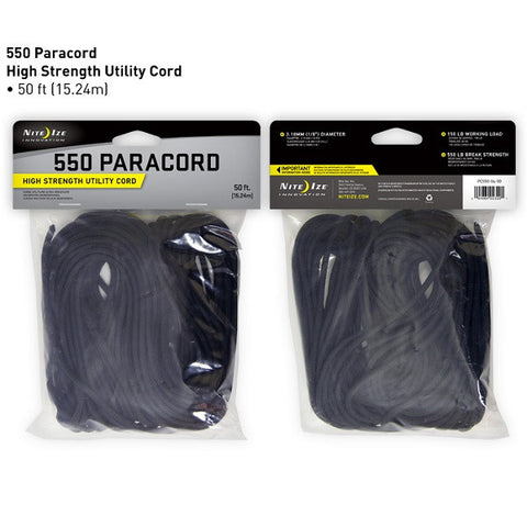 550 Paracord - High Strength Utility Cord