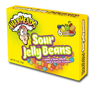 Warheads Sour Jelly Beans - Dream Candy