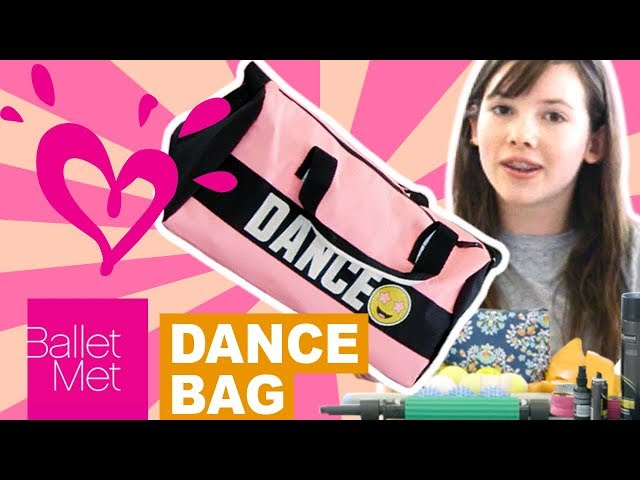 The girls at BalletMet show you what's in their ballet dance bags