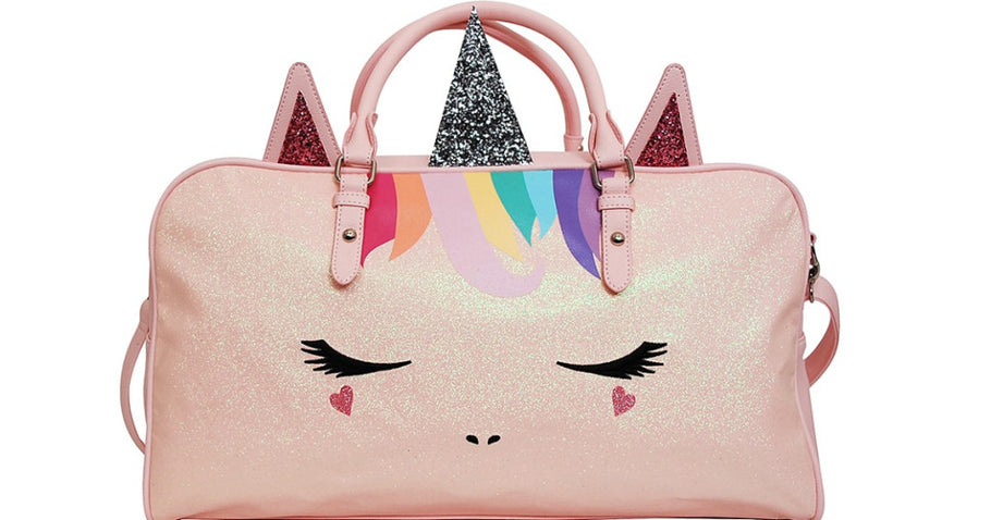Unicorn Duffel Bag Only $21.99 at Zulily (Regularly $54) | Perfect for Dance & Sleepovers