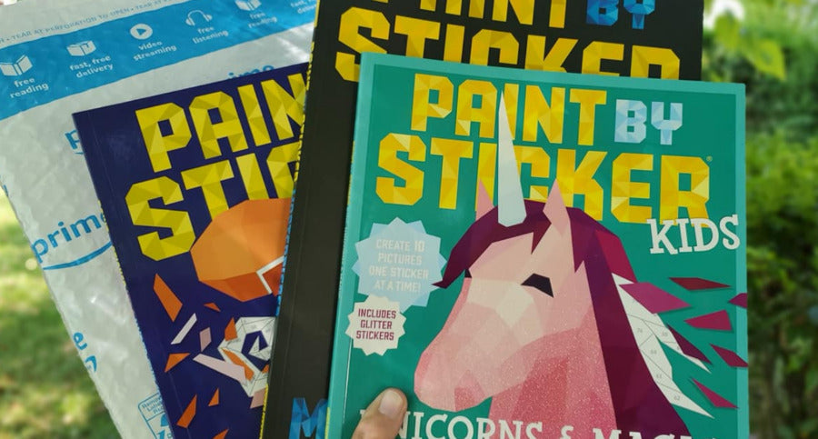 Amazon: Kids Activity Books From $5! (Paint by Sticker, Brain Quest & More)