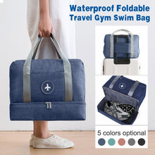Load image into Gallery viewer, Waterproof Foldable Travel Gym Swim Bag