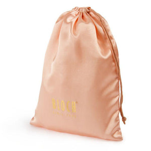 A6148 - Bloch Gold Logo Satin Dance Bag