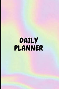 Daily Planner: Day Routine Planner & Goal Setting Organization Pastel Journal Notebook Diary Organizer with to do list for work, students, women, adults, kids, teachers, mom, girls & teens