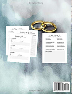 "Wedding Planner My Special Day: 8.5 x 11"" 120 Pg Worksheets Checklists Budget Planner"