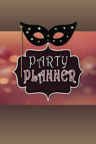 Party Planner Checklist Book: 6x9 Inch 100 Pages To-Do Lists