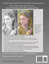 Load image into Gallery viewer, The Twelve Dancing Princesses: Grayscale Adult Coloring Book (Beautiful Fairy Tales) (Volume 1)