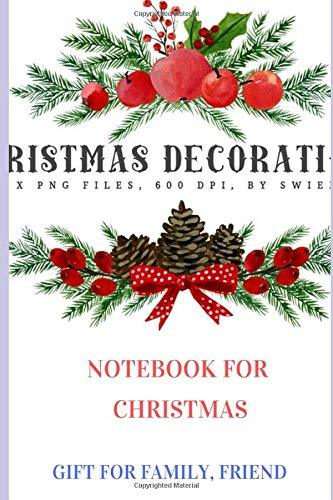 Christmas List Plan: Christmas List Notebook with Checklist Boxes and Lines To Buy GIft