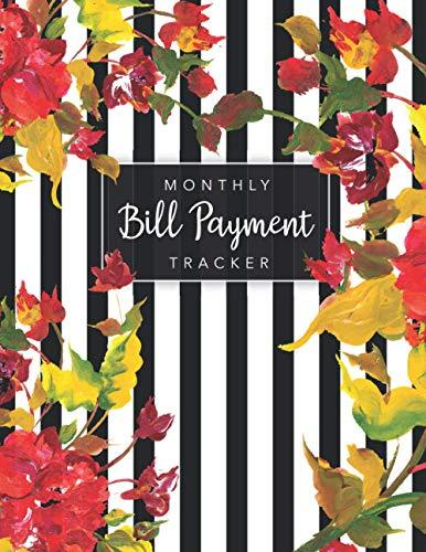 Monthly Bill Planner Tracker: Simple Monthly Bill Payments Checklist | Money Debt Tracker Keeper Budgeting | Monthly Expenses Planner