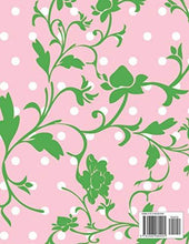 Load image into Gallery viewer, Wedding Planner: Pink Polka Dot Green Floral Vines Organizer For The Bride To Be To Plan The Perfect Wedding. Checklist, Packing List, Vision Board, Easy To Use