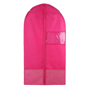 Home costume garment bag with pockets for dance competitions garment bags storage hanging breathable garment covers bag rose m