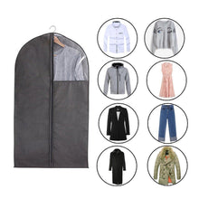 Load image into Gallery viewer, Cheap 6 packs translucent pvc garment bag dance costume bags foldable 50 inch full zipper suits bag dream duffel versatile hanging garment bag with name card pocket and 4 large zipper pockets