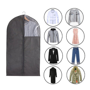 Cheap 6 packs translucent pvc garment bag dance costume bags foldable 50 inch full zipper suits bag dream duffel versatile hanging garment bag with name card pocket and 4 large zipper pockets