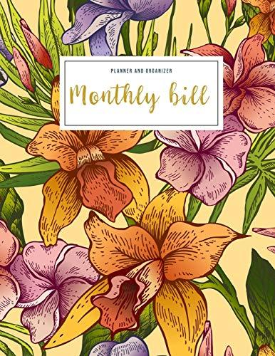 Monthly Bill Planner and Organizer: budgeting notebook | 3 Year Calendar 2020-2022 Budgeting Planer with income list,Weekly expense tracker ,Bill ... Design Gift (Financial Planner Budget Book)