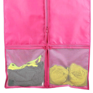 Results kernorv garment bags for dance costumes set of 5 breathable dust proof garment bags 51 dance garment bags with pockets for dance costumes dress jacket storage or travel pink
