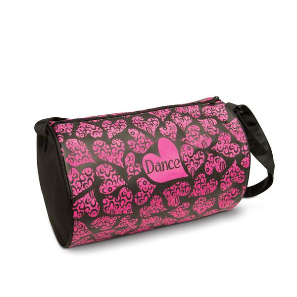 Danz N Motion - Lace of Hearts Dance Bag (B414) - Black
