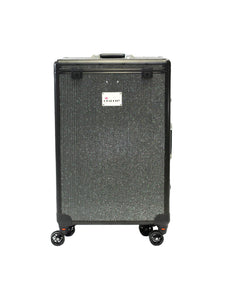 Factory Second Black Crystal DivaDolly | Rolling Dance Bag Alternative with a Wardrobe Rack