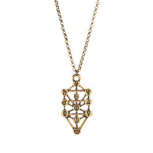 Sacred Geometry Tree of Life Pendant
