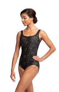 Ainsliewear 1049LL Adult Fashion Tank Bodysuit with All Over Lola Lace
