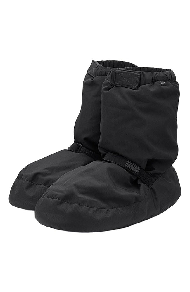 Bloch IM009 Adult Black Warm Up Booties