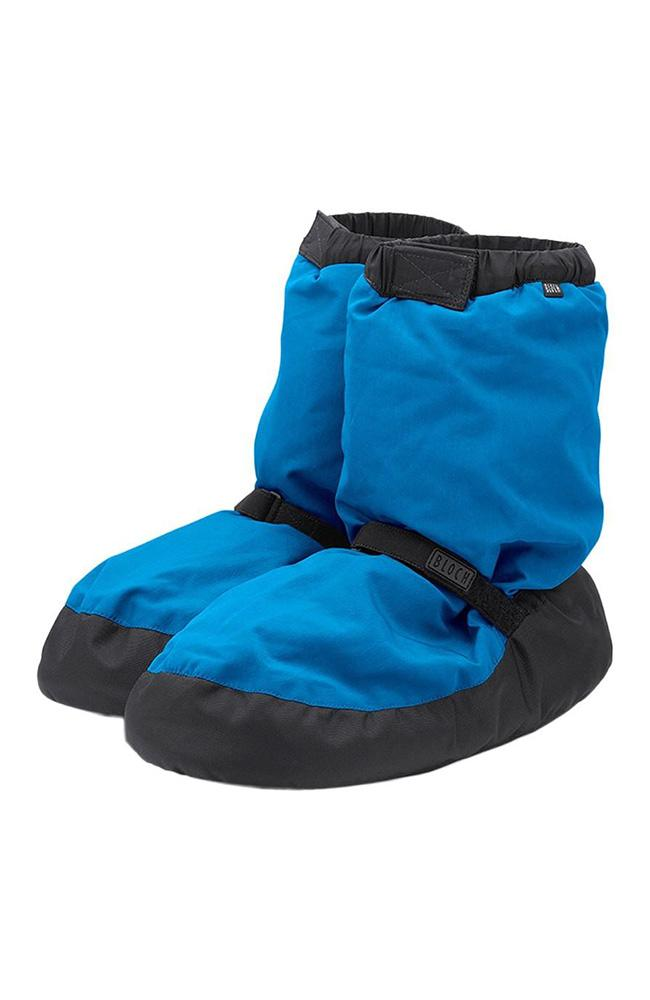Bloch IM009K Fluorescent Blue Child Warm Up Booties