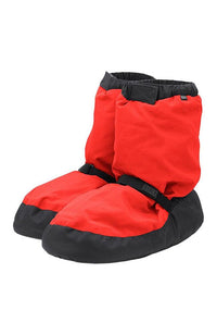 Bloch IM009K Fluorescent Orange Child Warm Up Booties