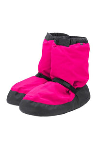Bloch IM009K Fluorescent Pink Warm Up Booties