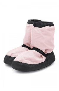 Bloch IM009K Candy Pink Child Warm Up Booties