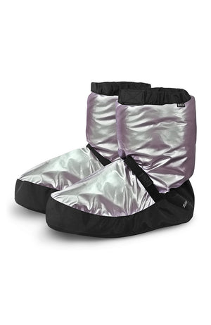 Bloch IM009MT Adult Metallic Warm Up Booties