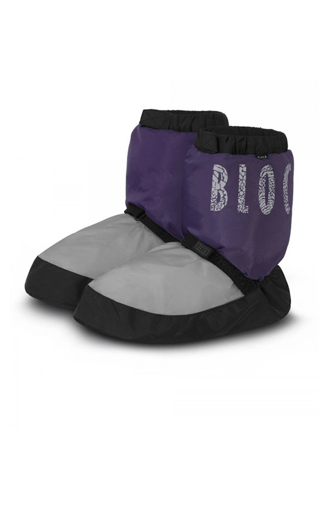 Bloch IM009TK Child Purple Two Tone Warm Up Booties