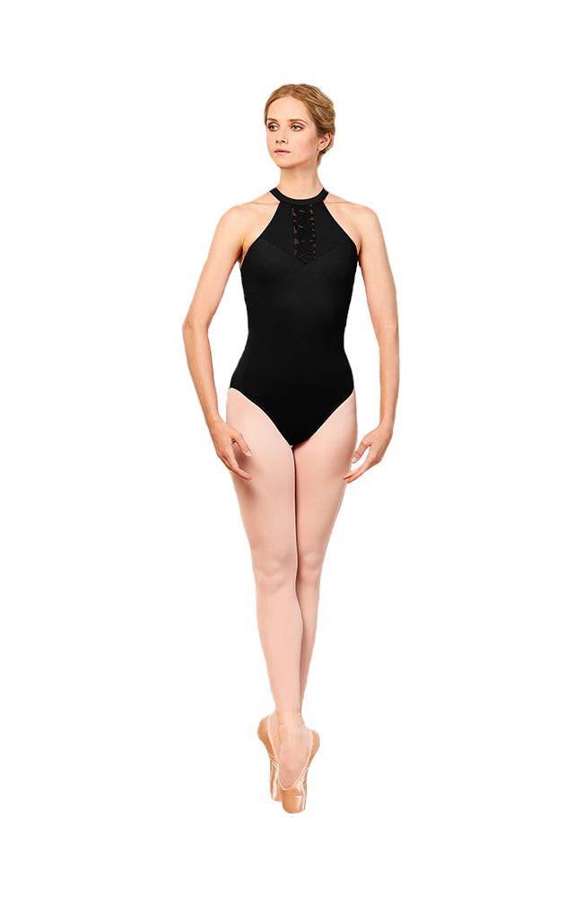Bloch L5555 Adult Fashion Halter Bodysuit