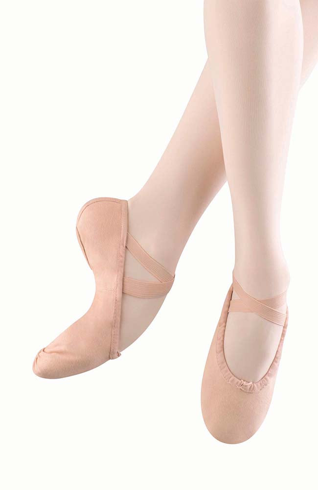 Bloch S0277L Pump Canvas Split Sole Ballet Slippers