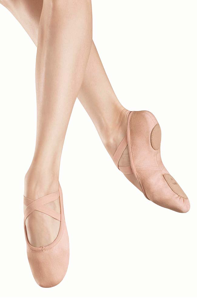 Bloch S0282G Zenith Stretch Canvas Ballet Slipper