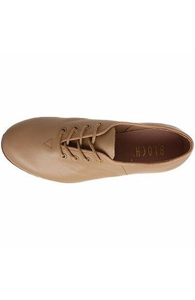 Bloch S0301G Tan Classic Jazz Tap Shoe