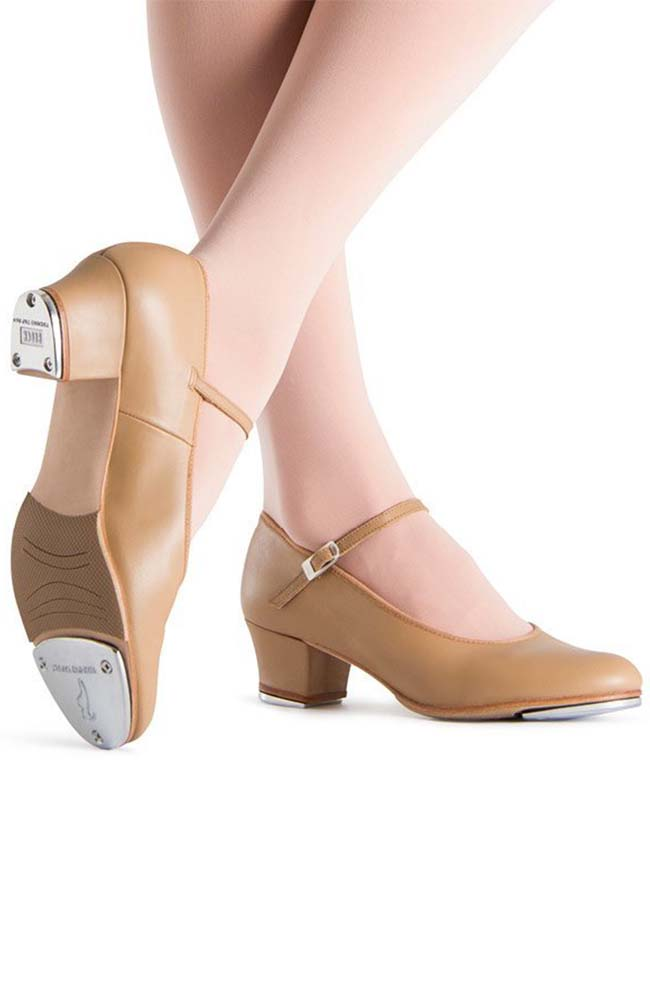 Bloch S0323L Tan Showtapper Tap Shoes