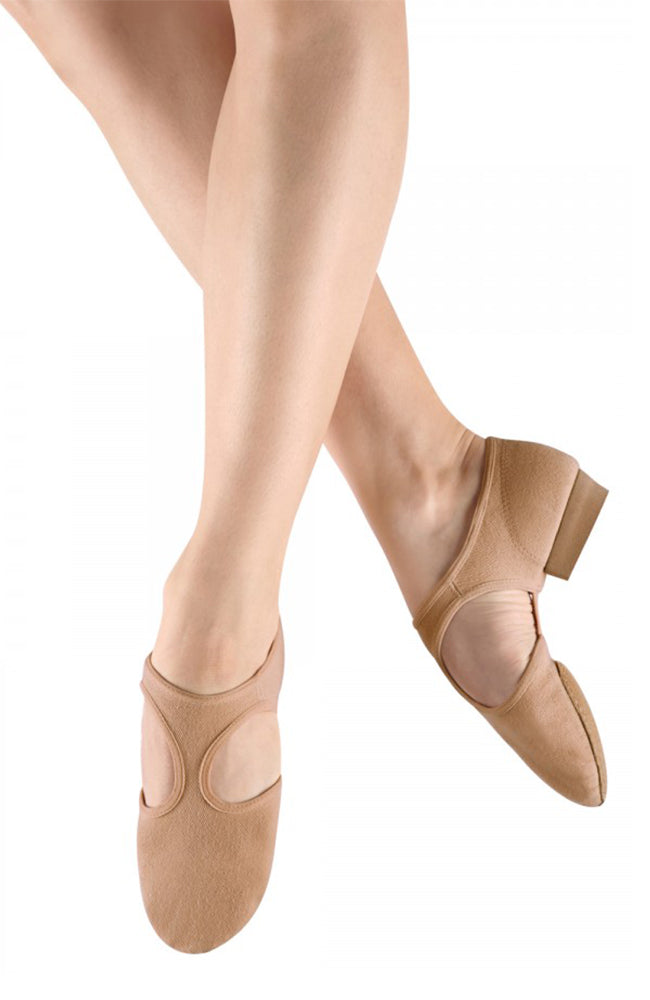 Bloch S0414L Tan Stretch Canvas Grecian Sandal