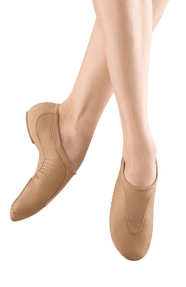 Bloch S0470G Tan Pulse Jazz Shoes