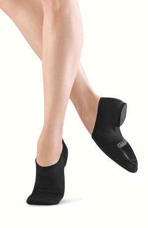 Bloch S0473L Black Phantom Stretch Canvas Jazz Shoe