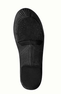 Bloch S0473G Black Phantom Stretch Canvas Jazz Shoe Sole