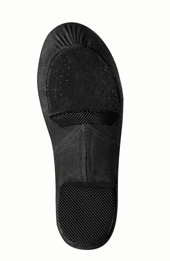 Bloch S0473L Black Phantom Stretch Canvas Jazz Shoe Sole