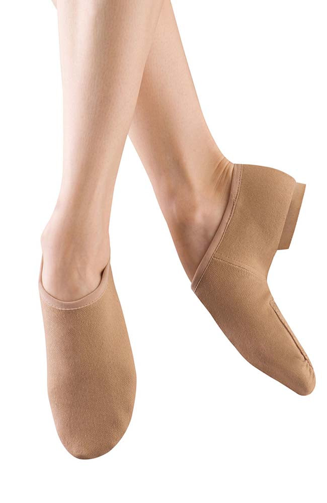 Bloch S0473L Tan Phantom Stretch Canvas Jazz Shoe